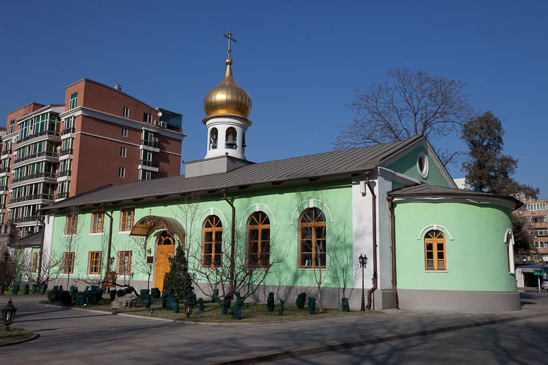 Church of the Dormition of the Theotokos on the territory of the Russian Embassy in Beijing